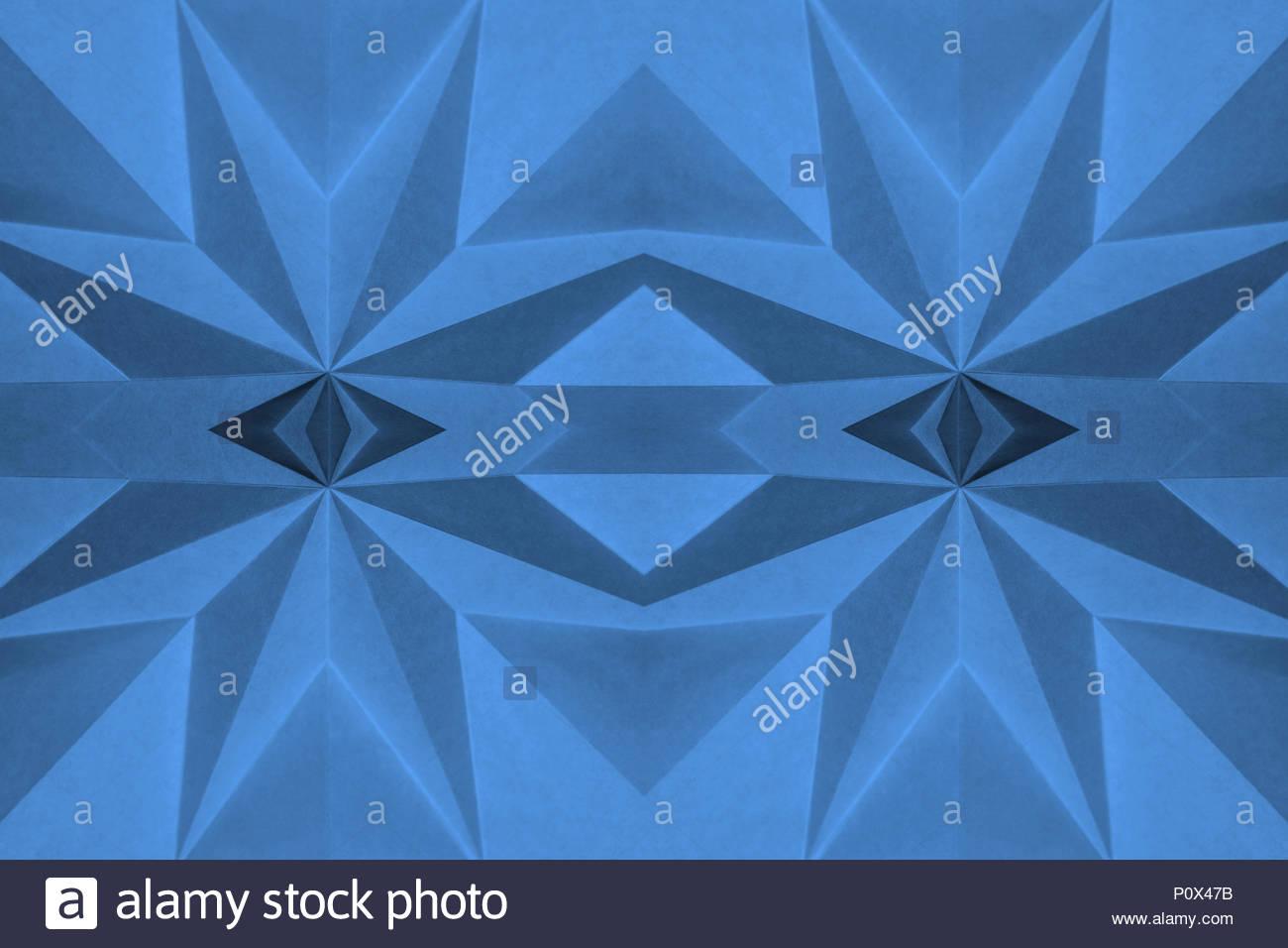 Blue Origami Photos Blue Origami Images Alamy