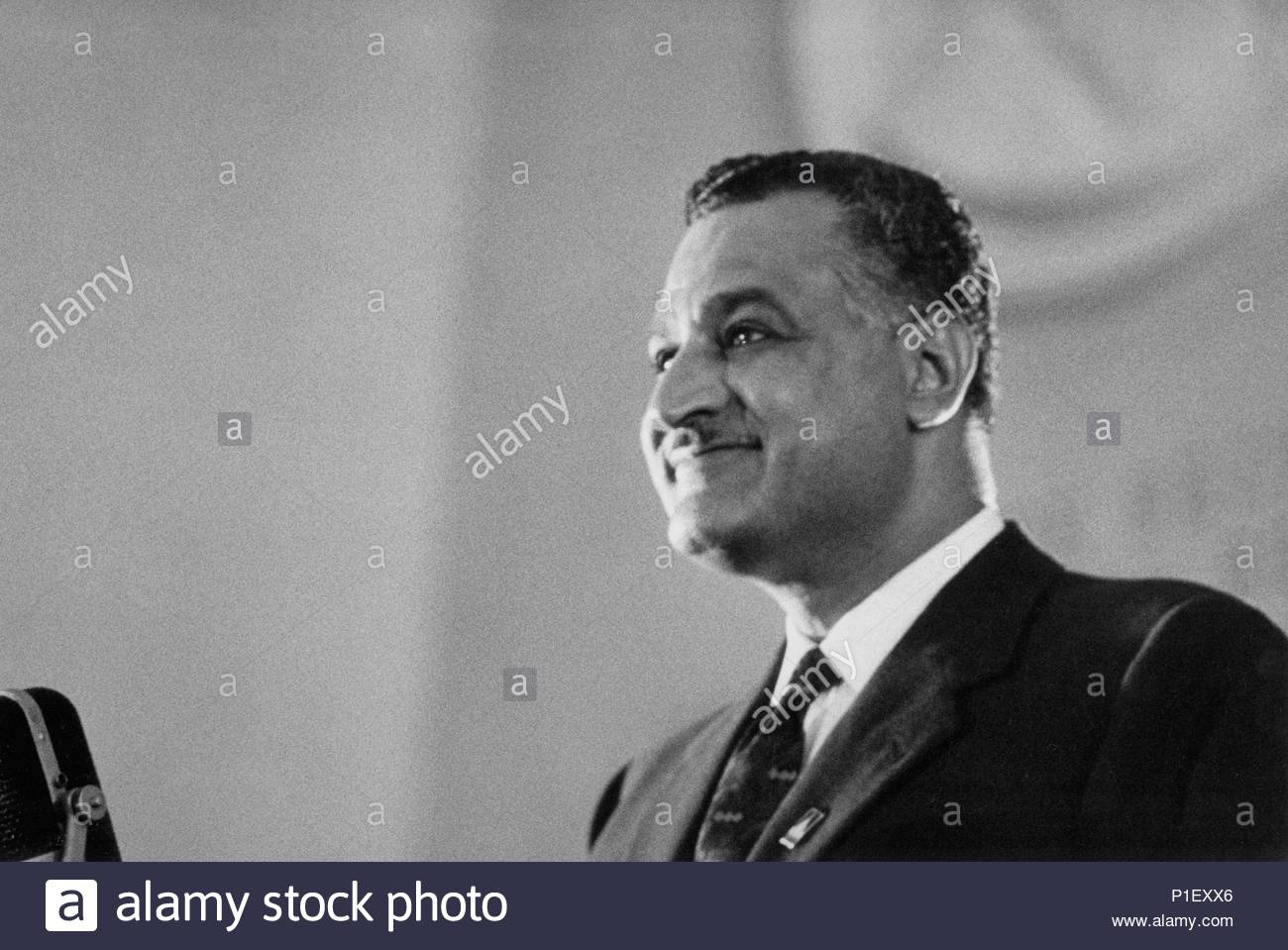 Le Prsident Gyptien Gamal Abd El Nasser Sur Un 18 Jours Visite Moscou