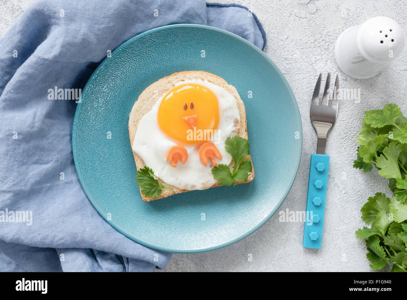 Petit Déjeuner Dart Créative Idée Pour Les Enfants En Forme De