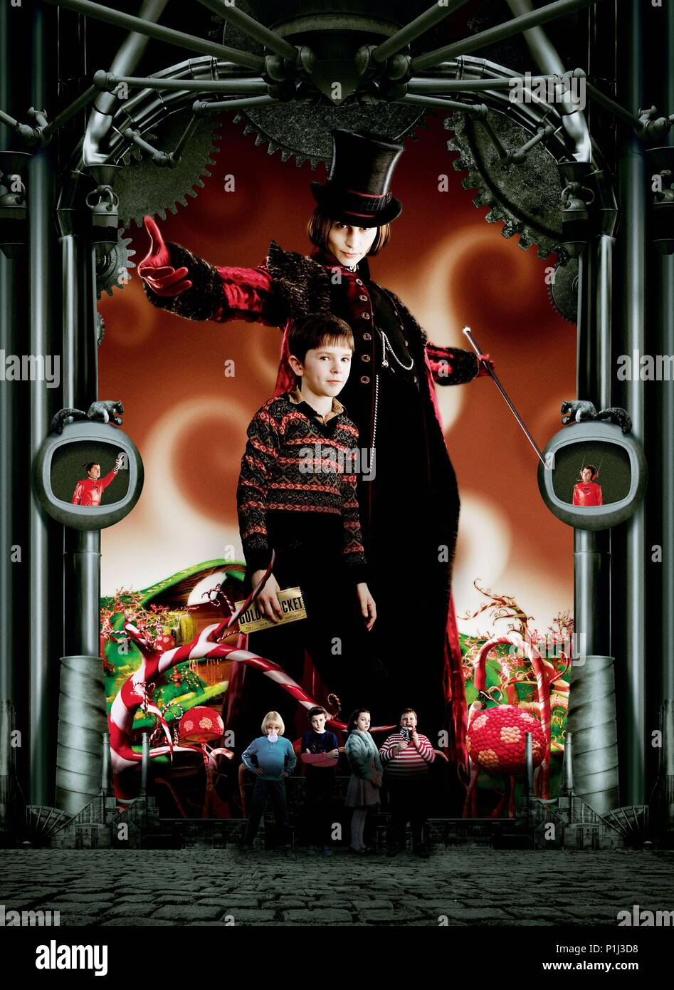 Home Décor CHARLIE ET LA CHOCOLATERIE JOHNNY DEPP TIM BURTON Poster Affiche  Home & Garden ideahome.gr