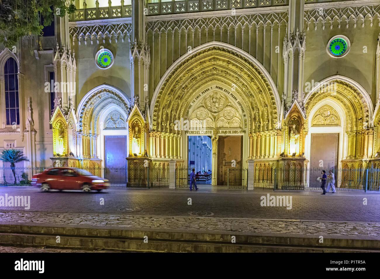 Cathédrale Métropolitaine de Guayaquil, Équateur Photo Stock