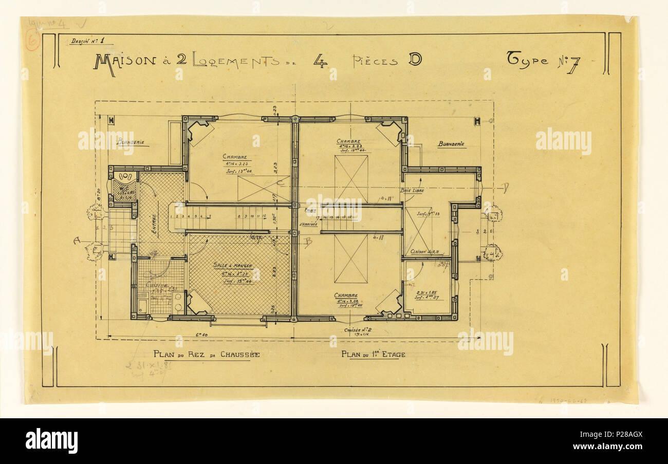 un plan de maison en anglais