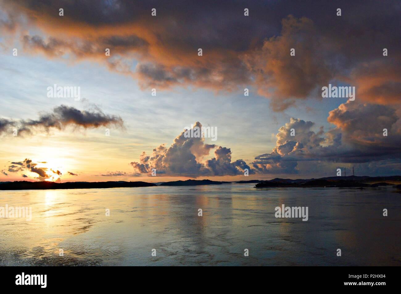 Lever du soleil Photo Stock