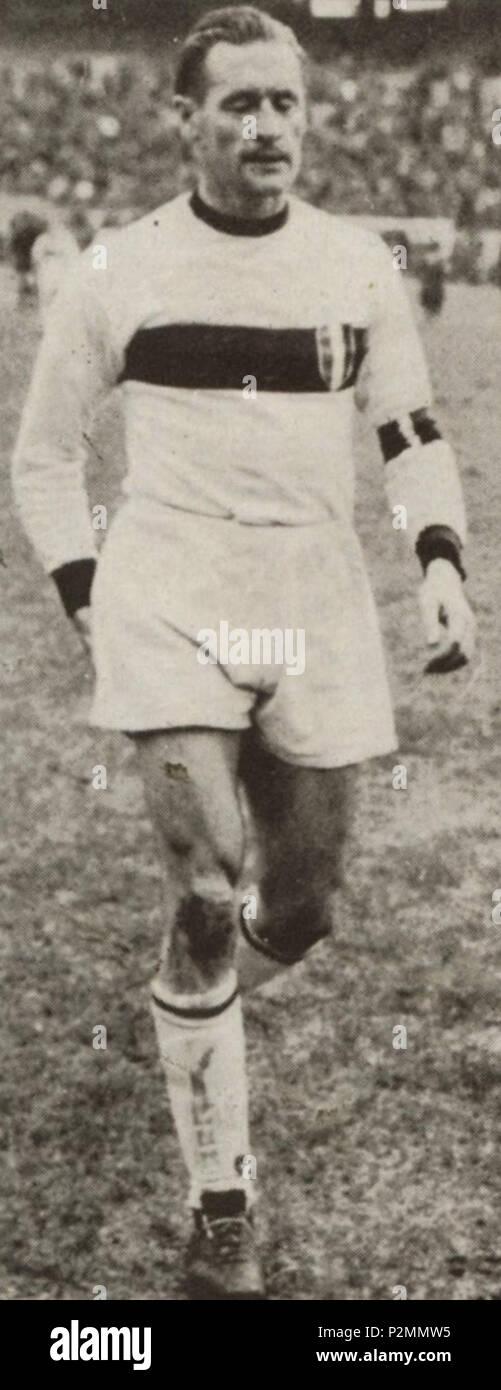 . Italiano: Il calciatore svedese Nils Liedholm al Milan negli Anni 50 del XX secolo. Entre 1951 et 1960. Inconnu 65 Nils Liedholm - années 50 - L'AC Milan Photo Stock