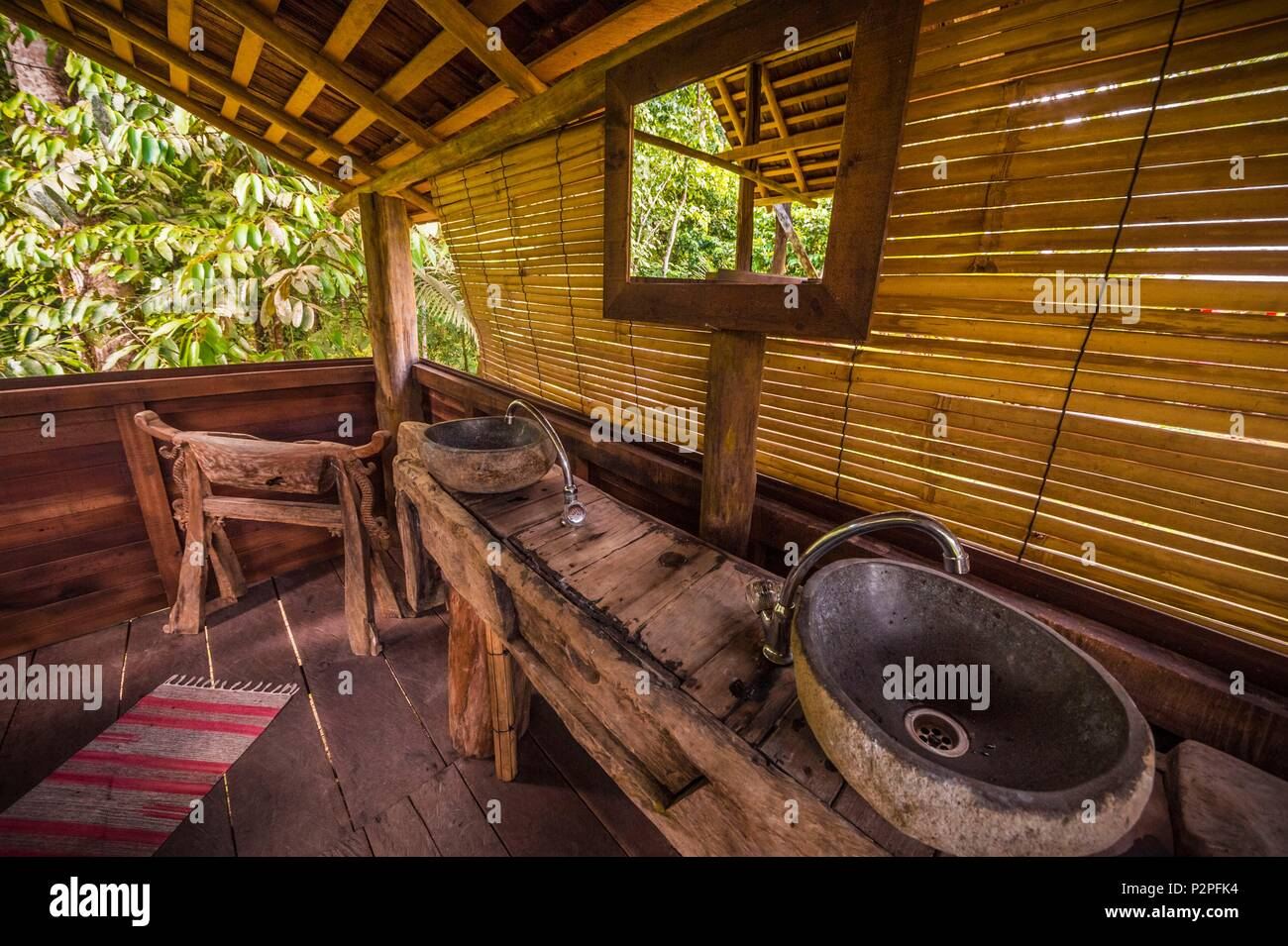 Petite Salle De Bain Style Hammam ~ Wapa Lodge Photos Wapa Lodge Images Alamy