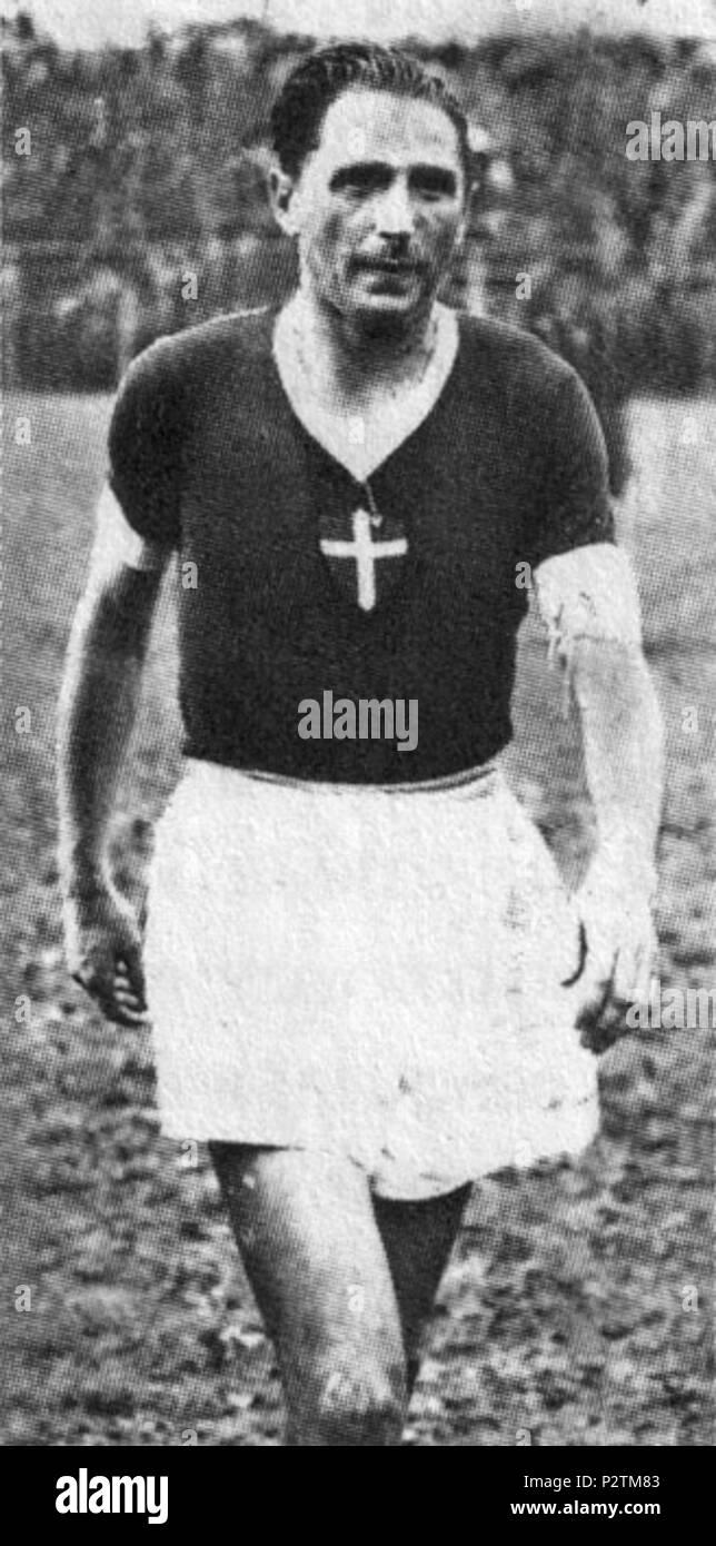 . Italiano: Il calciatore italiano Silvio Piola Novara tra gli anni al 40 50 e del XX secolo. Entre 1947 et 1954. Inconnu 83 Silvio Piola - AC Novara Banque D'Images