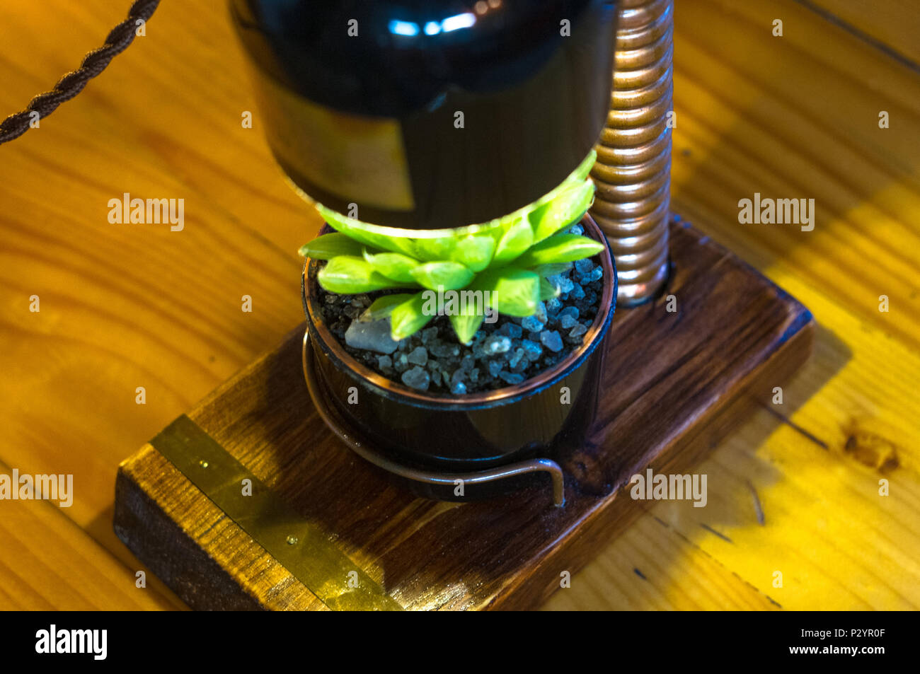 Fleurs Vintage Luminaire Pot Support Handmade En Pour De Style 8Nwyvnm0O