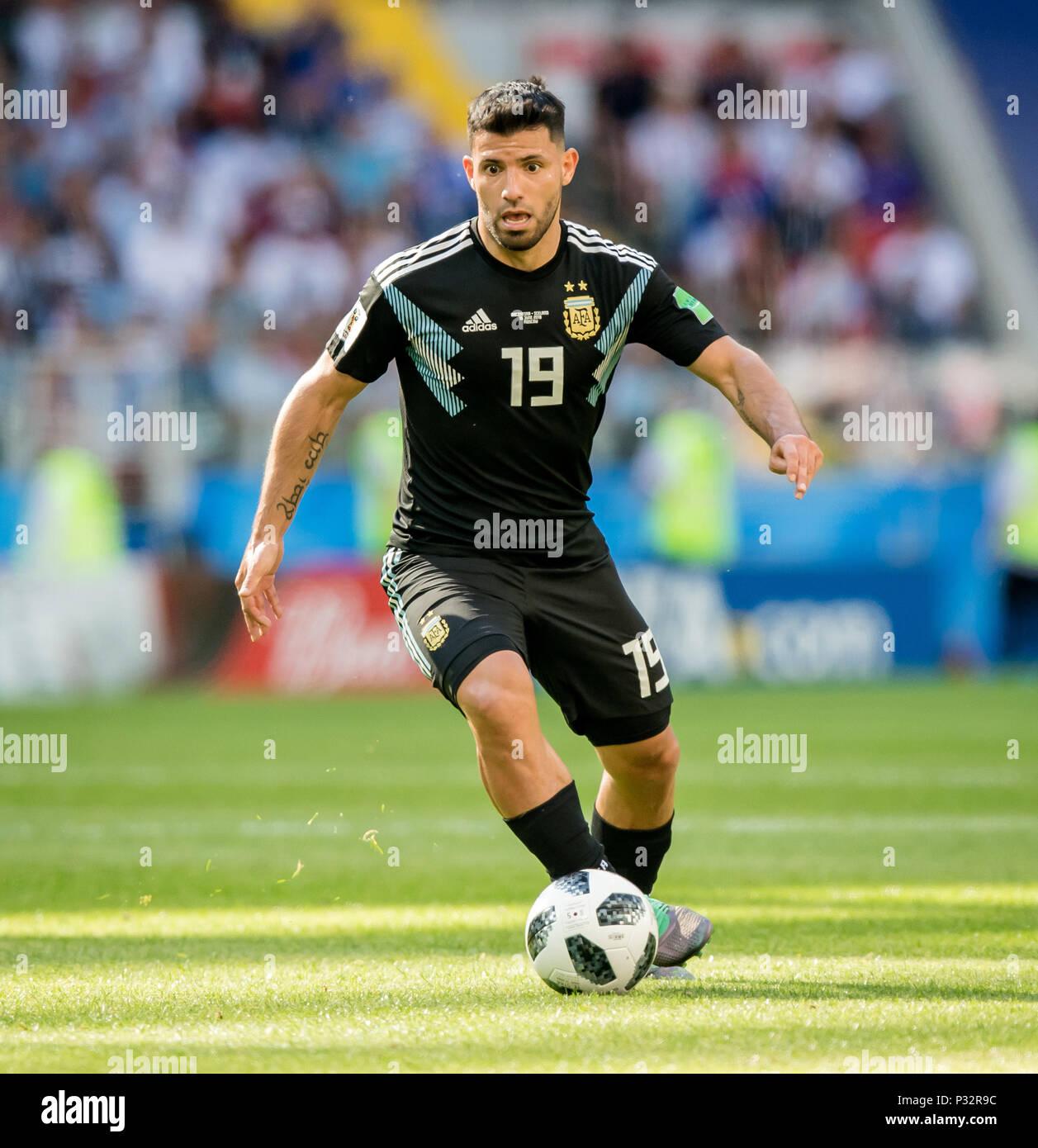 Coupe Du Monde 2018 Football Fifa Russie: Sergio Kun Aguero (Agueero) (Argentine) GES / Coupe Du