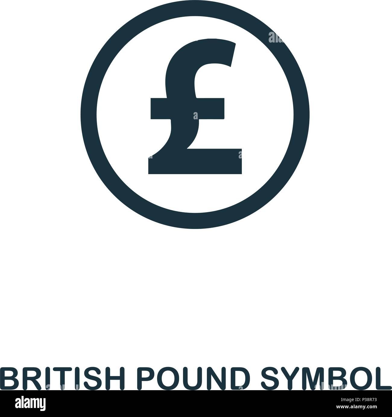 Icone Symbole De La Livre Sterling Application Pour Mobile