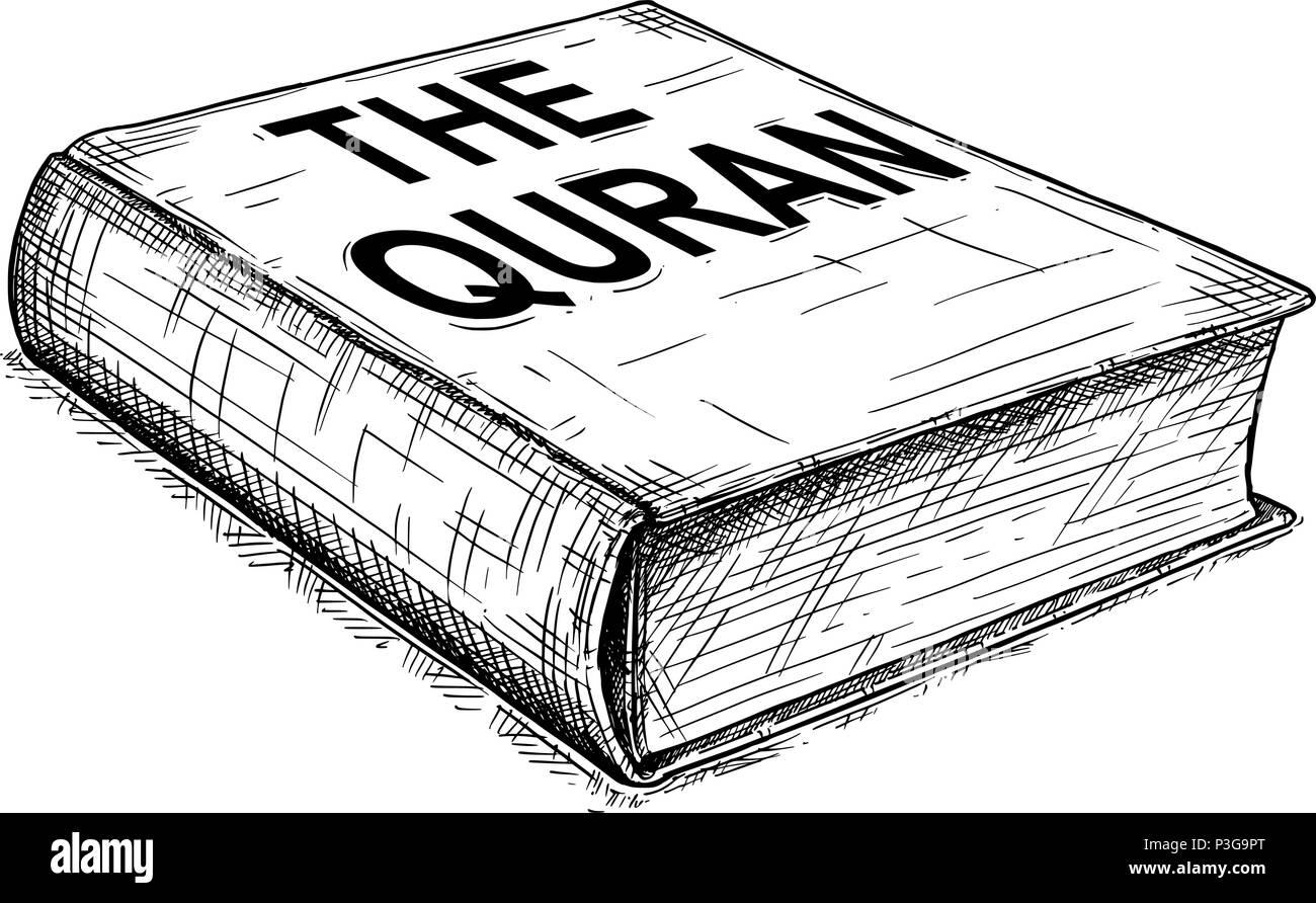 Vector Illustration Dessin Artistique Du Qur An Ou Coran