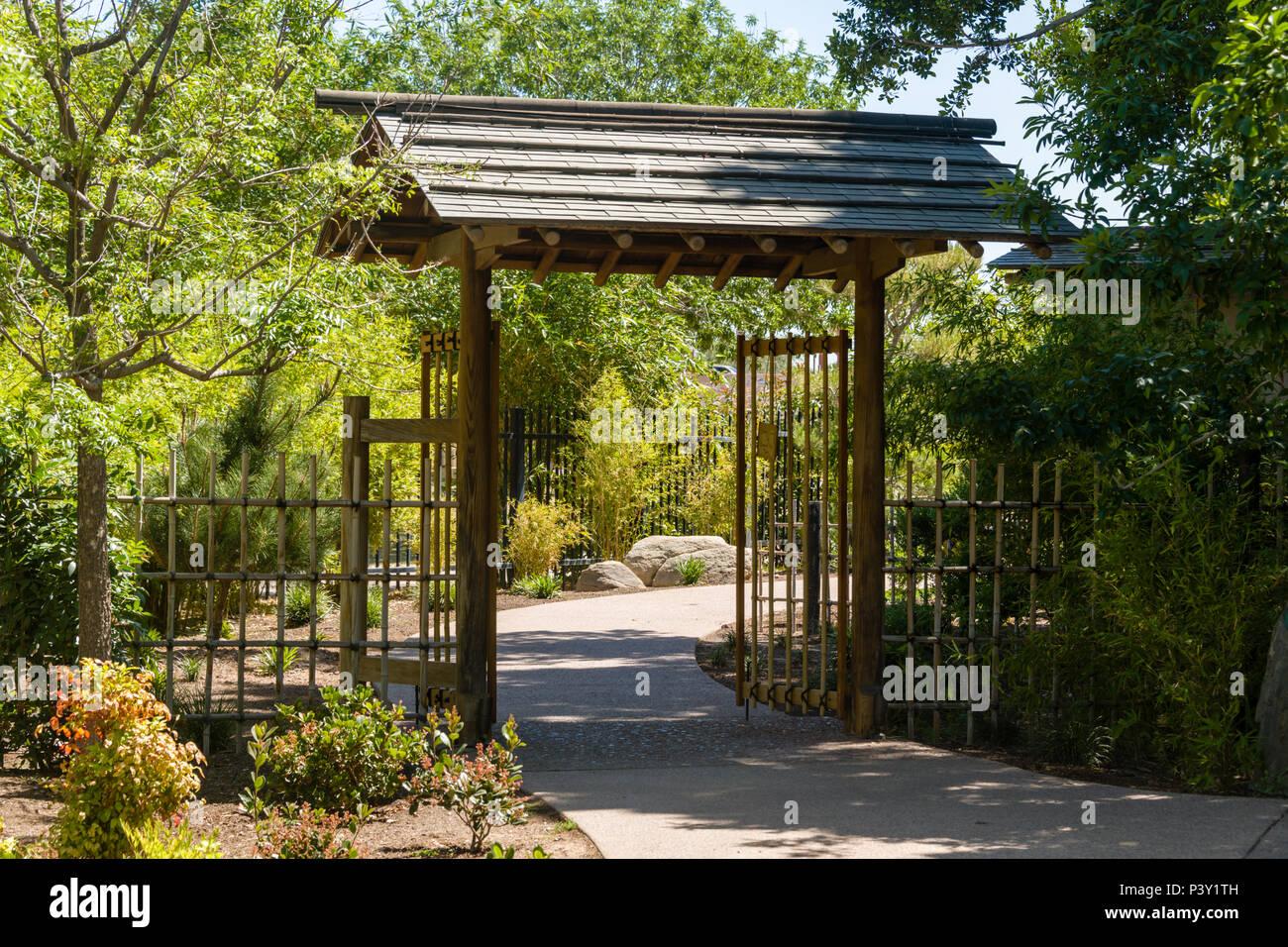 Amitié porte de jardin japonais Banque D\'Images, Photo Stock ...