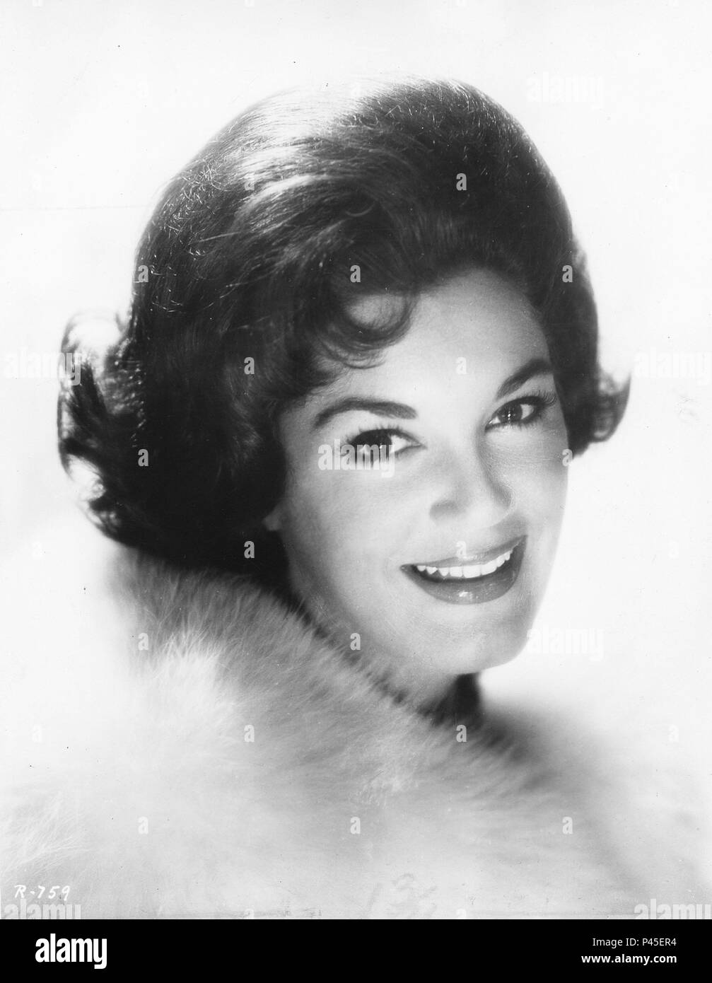 Stars: Connie Francis. Banque D'Images