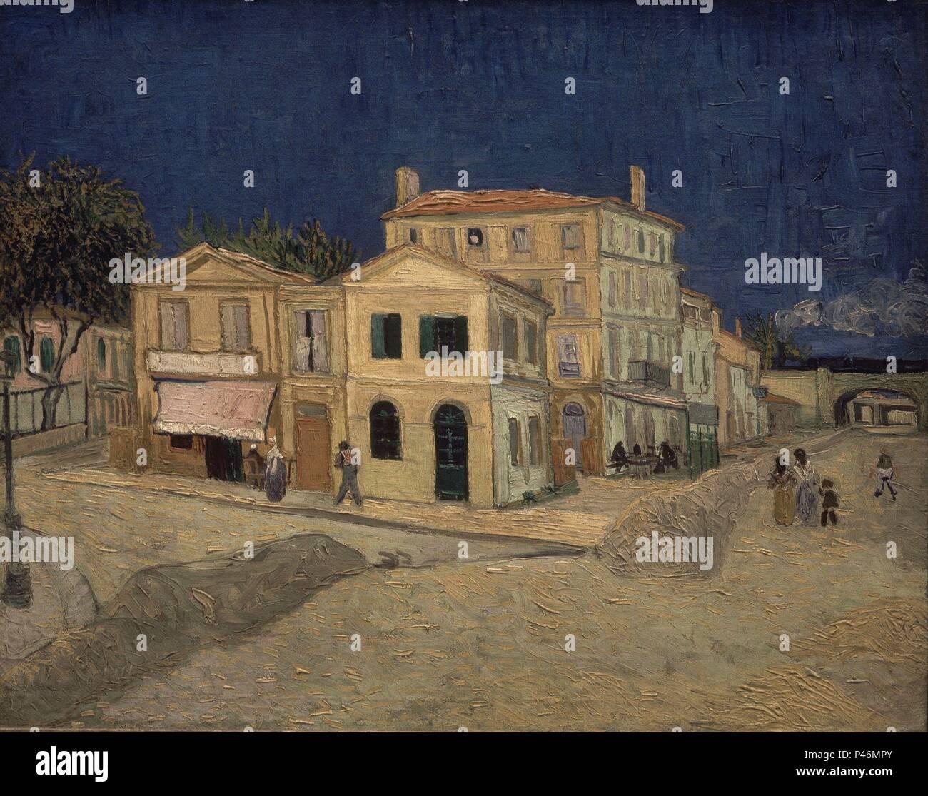 La Maison Jaune (la Chambre De Vincent). 1888. Huile Sur Toile (72 X 91  Cm). Amsterdam, Van Gogh Museum. Auteur : Vincent Van Gogh (1853 1890).