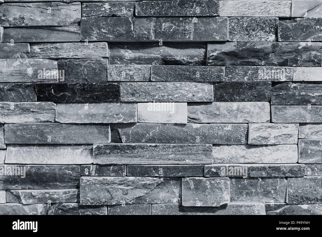 La texture du mur de pierre intérieur modèle de tuile de ...