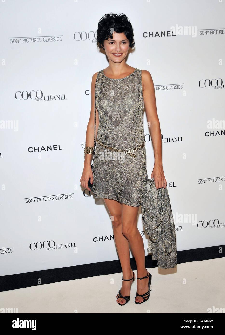 Audrey Tautou - Coco avant Chanel After Party à la Coco Chanel Boutique à  Los Angeles 372b5886943