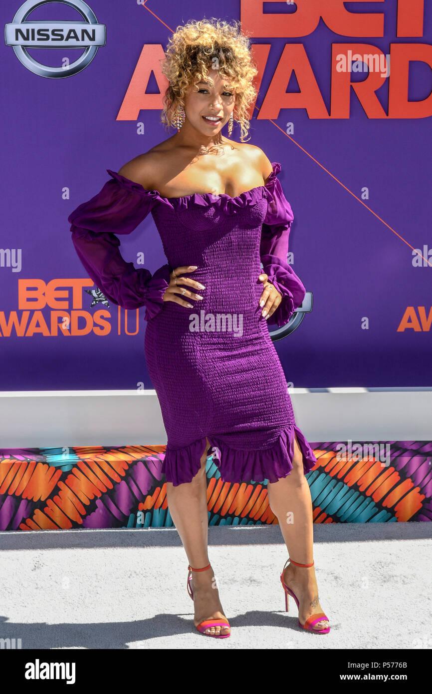 Los Angeles, CA, USA. 24 Juin, 2018. Kelis au BET Awards 2018 lors du Microsoft Theatre de Los Angeles, Californie le 24 juin 2018. Credit: Damairs Carter/media/Alamy Punch Live News Photo Stock