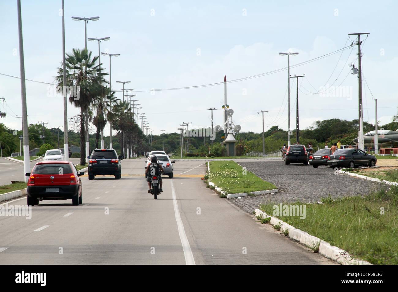 RN-063, Rota do Sol, Parnamirim, Rio Grande do Norte, Brésil Photo Stock