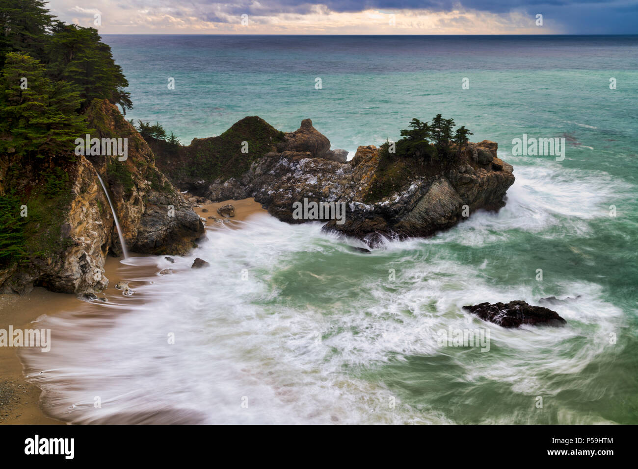 McWay Falls Photo Stock