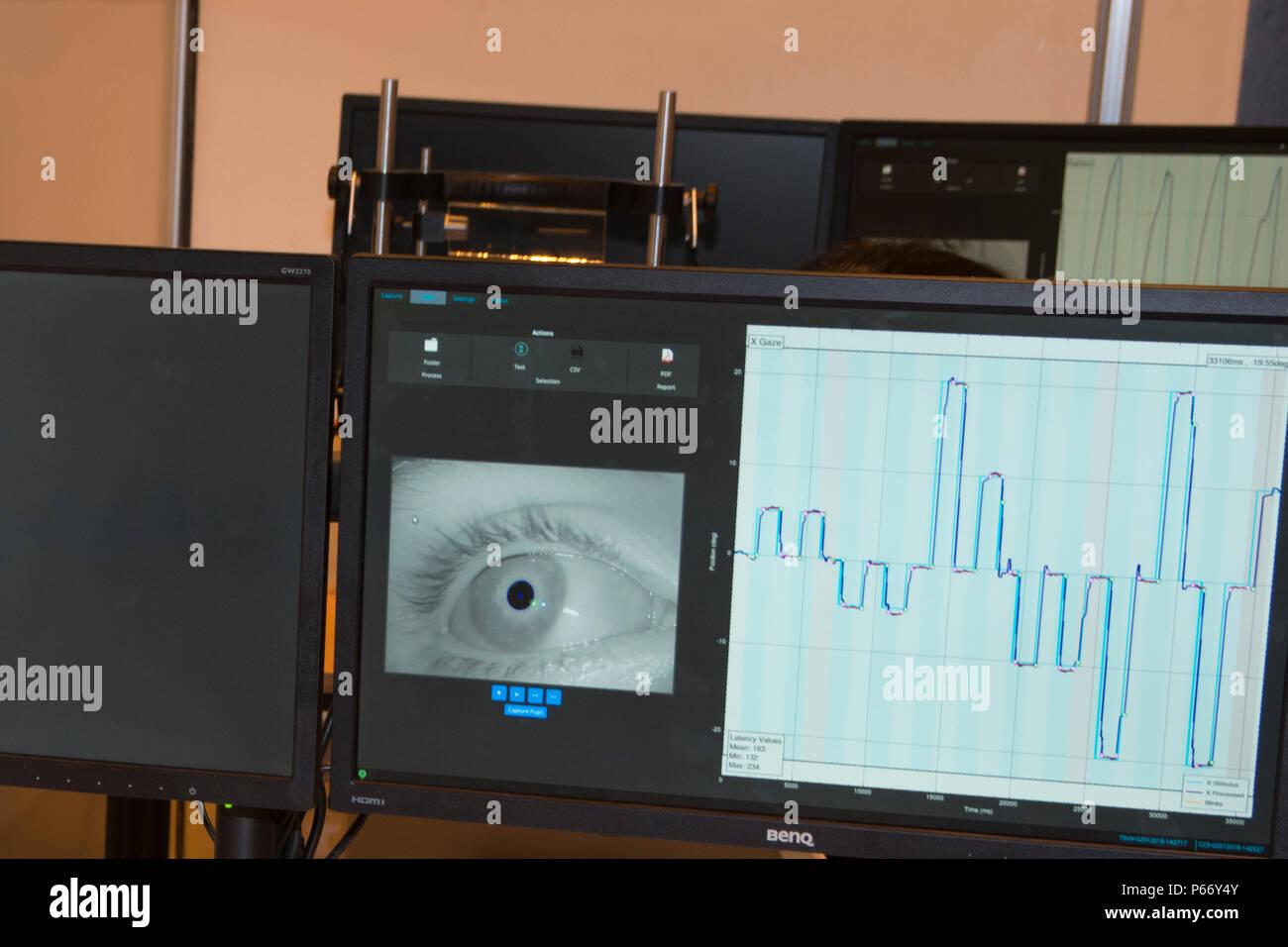 Tech MCS logiciel Capture de mouvements pour Technaid société. GR-EX sommet (Robot mondial Expo). Photo Stock