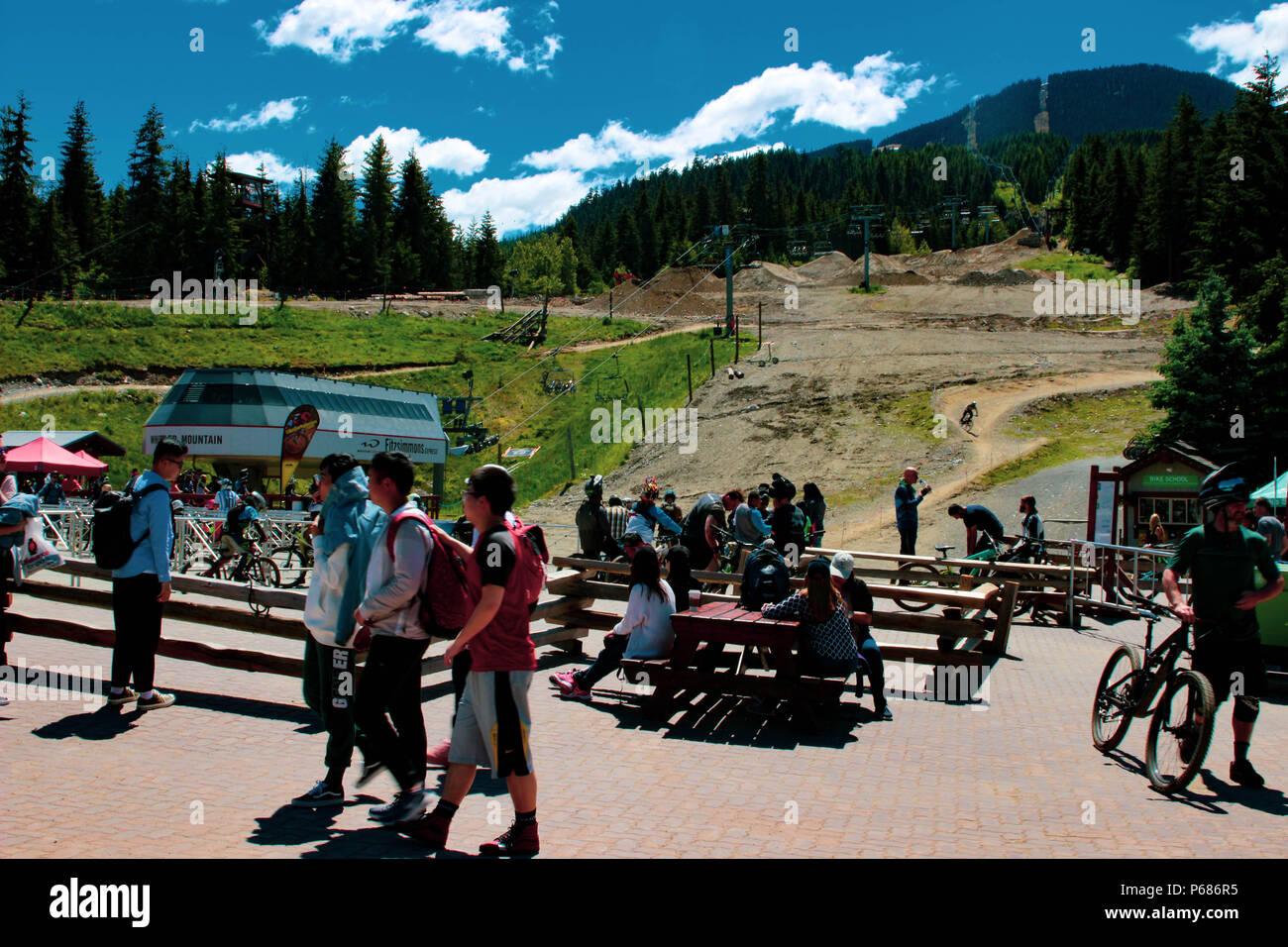 Chaîne Célèbre Vélo Columbia Village La Région De Montagne YIEDW2eH9