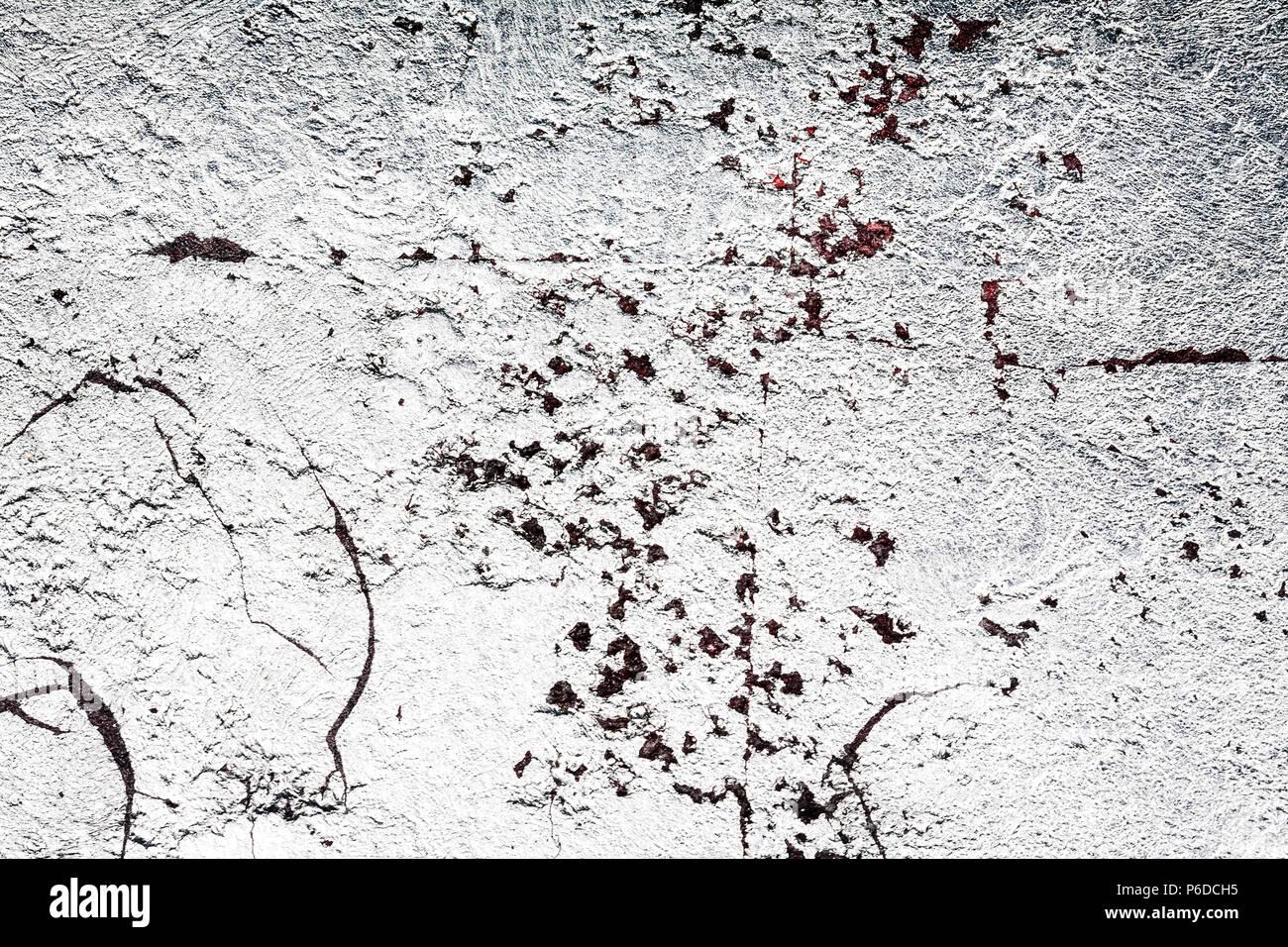 Couleur Argent Mur Texture Background Stuc Malpropre