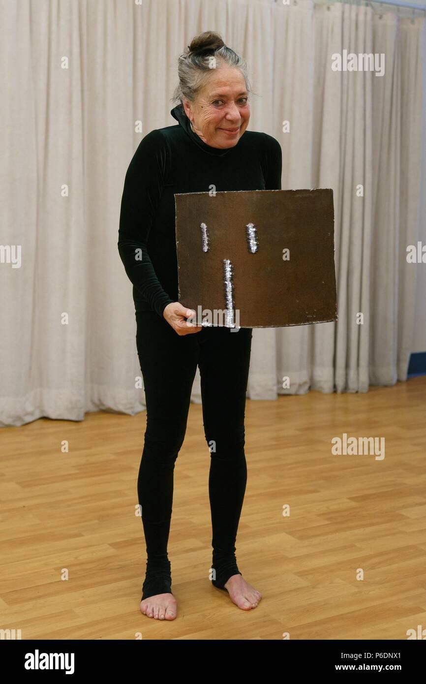 New York, NY, USA. 29 Juin, 2018. Floriana Frassetto présents pour MUMMENSCHANZ Debut nouveau spectacle 'toi et moi', Pearl Studios, New York, NY Le 29 juin 2018. Crédit: Jason Smith/Everett Collection/Alamy Live News Banque D'Images