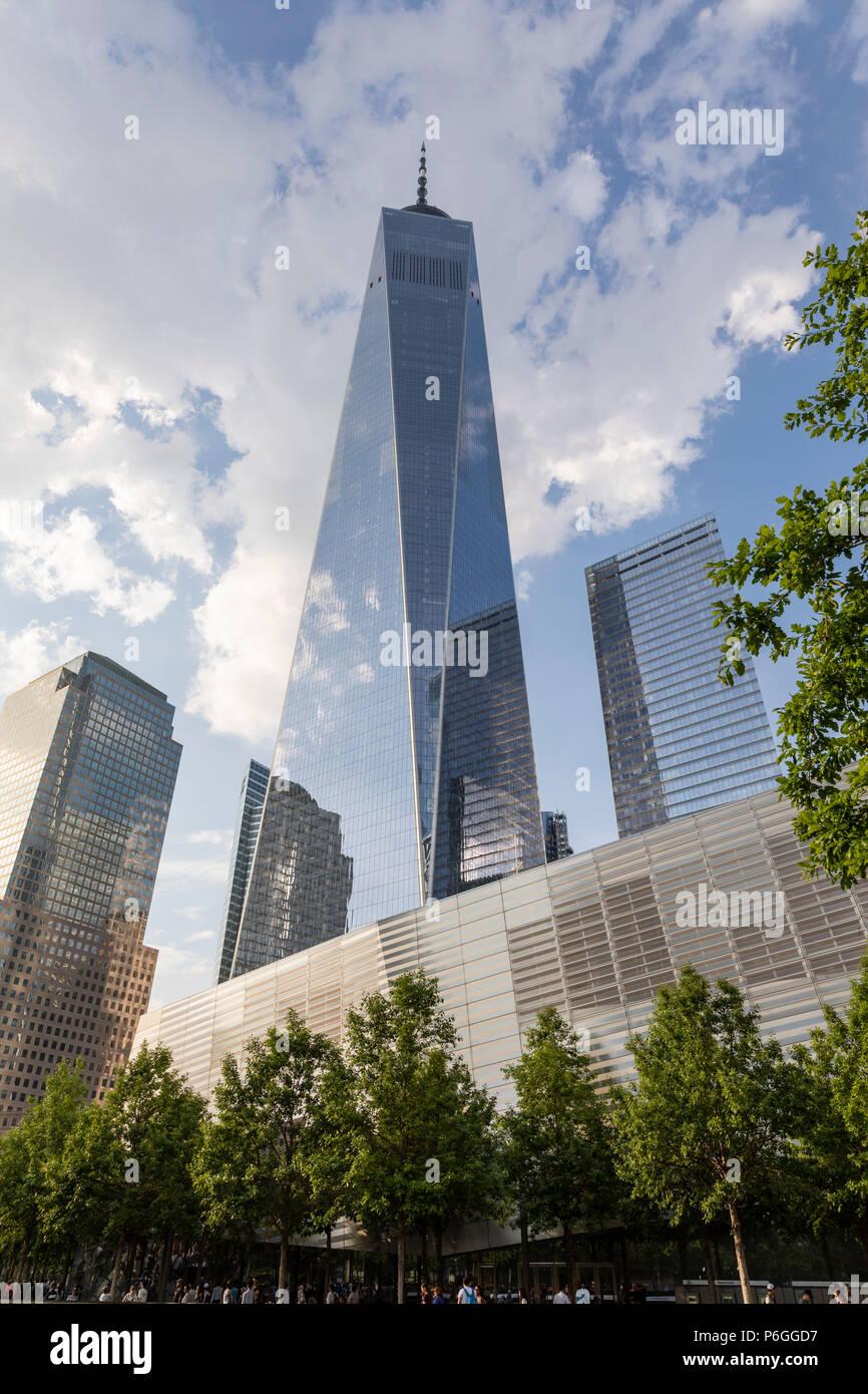 9/11 Memorial. World Trade Center. New York City, États-Unis Photo Stock