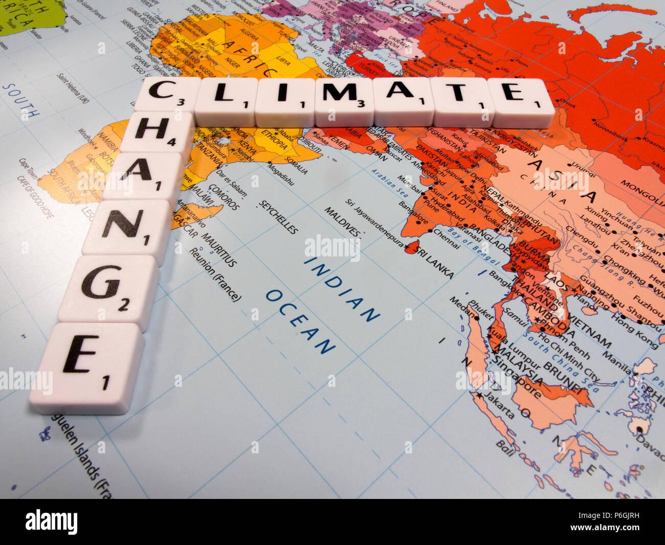 Carte Du Monde Kuala Lumpur.Representation De L Evolution Du Climat La Temperature Mondiale