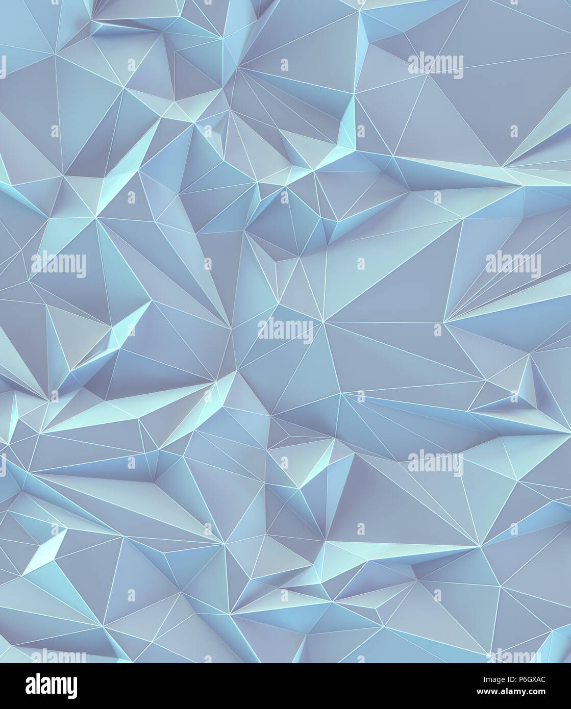 3D illustration. Abstract background image, in lines et géométriques formes triangulaires. Vintage de couleur pastel. Photo Stock