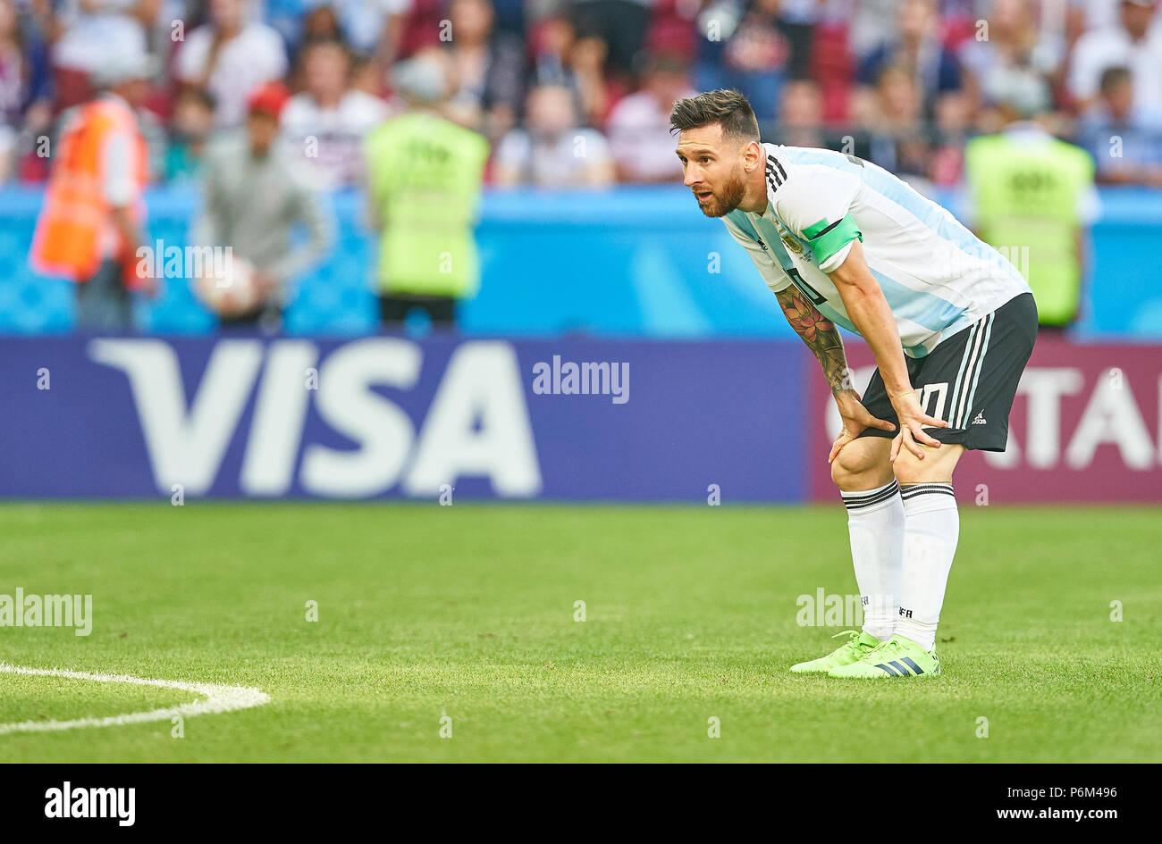 Kazan, Russie. Jun 30, 2018. Argentine France 3 4, Soccer
