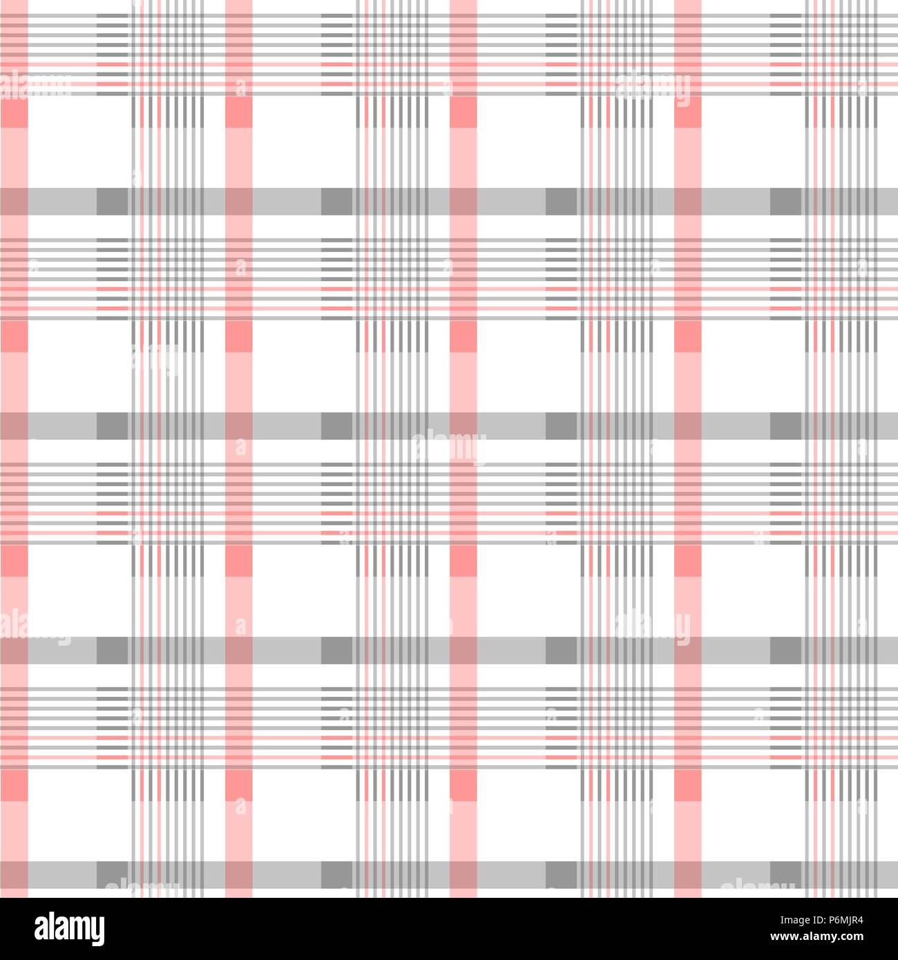 Seamless Tartan Motif de fond. Noir, rouge et blanc à carreaux ...