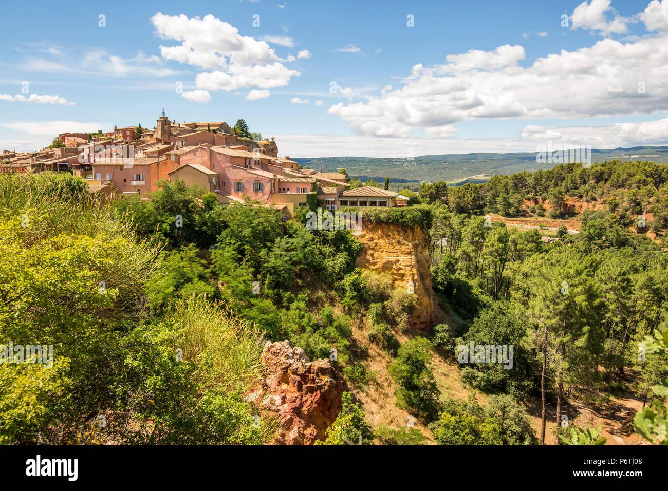 Roussillon, Provence, France. Photo Stock