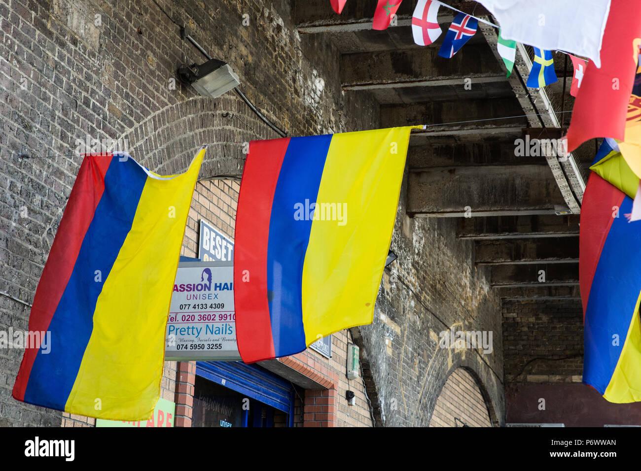 Bunting coupe du monde de rugby équipes Drapeau 25 grands drapeaux 7 M Angleterre