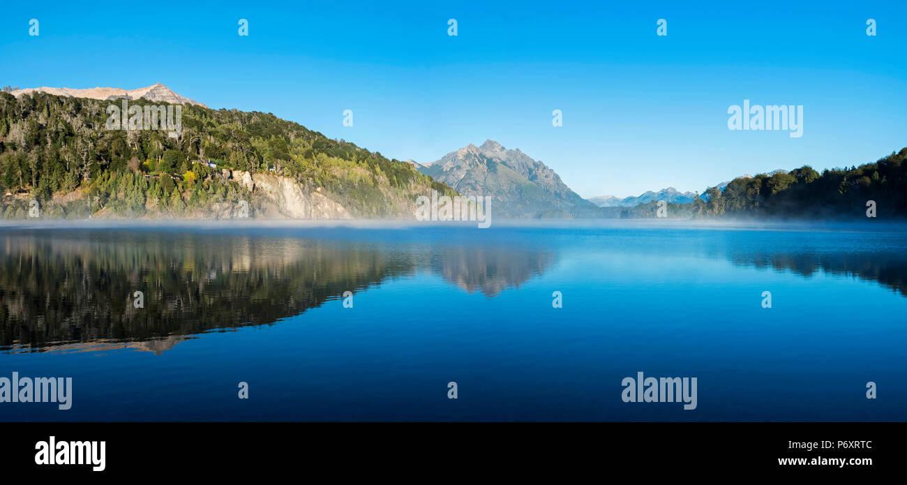 L'Amérique du Sud, Argentine, Patagonie, Rio Negro, le paysage du Parc National Nahuel Huapi Photo Stock