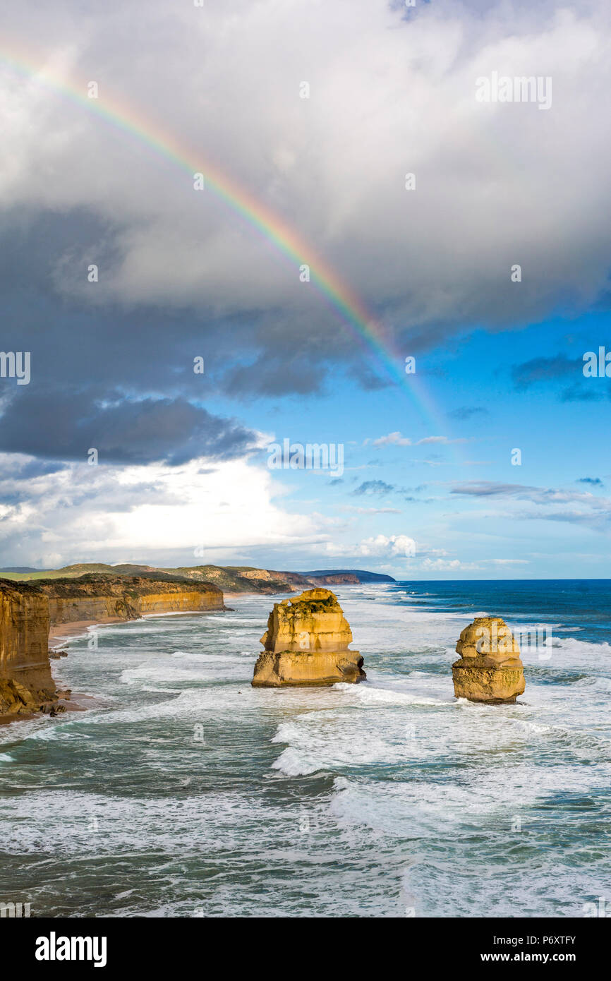 12 apôtres, Great Ocean Road, Victoria, Australie. Photo Stock