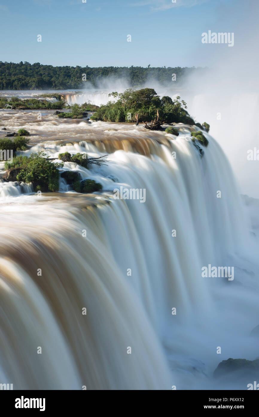 Iguacu Falls, État du Parana, Brésil Photo Stock