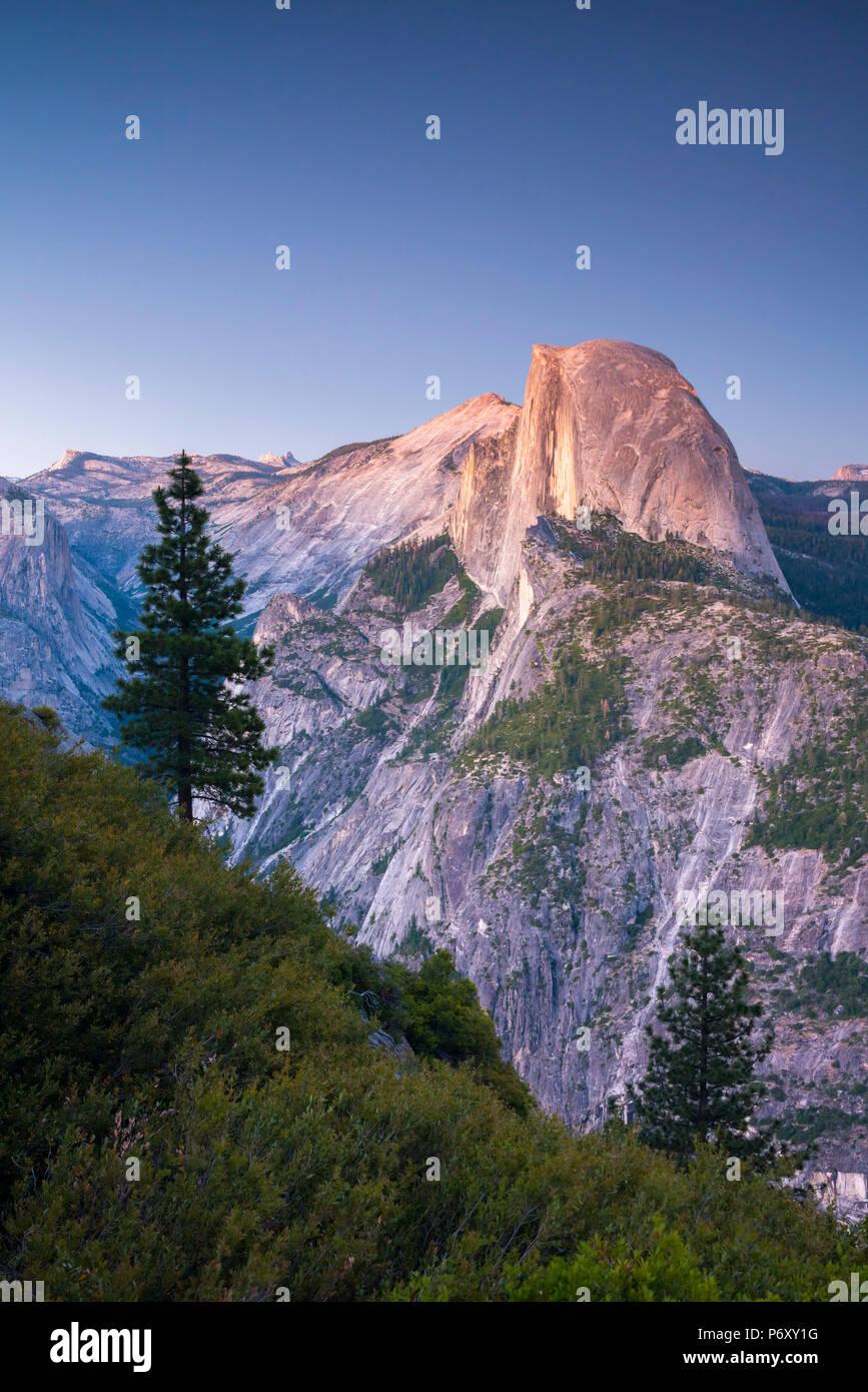 États-unis, Californie, Yosemite National Park, Half Dome Photo Stock