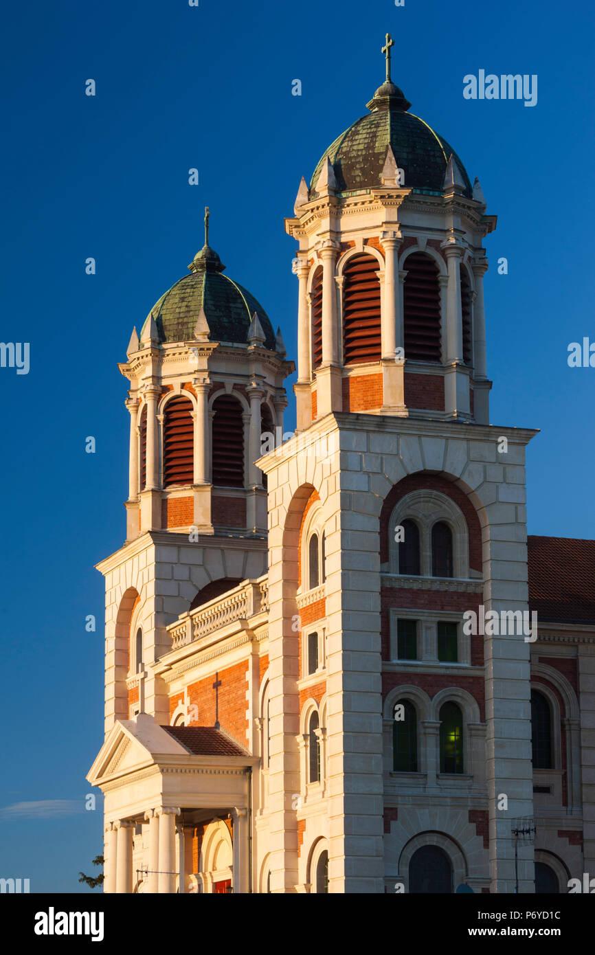 Nouvelle Zélande, île du Sud, Canterbury, Timaru, Basilique du Sacré-Cœur Banque D'Images