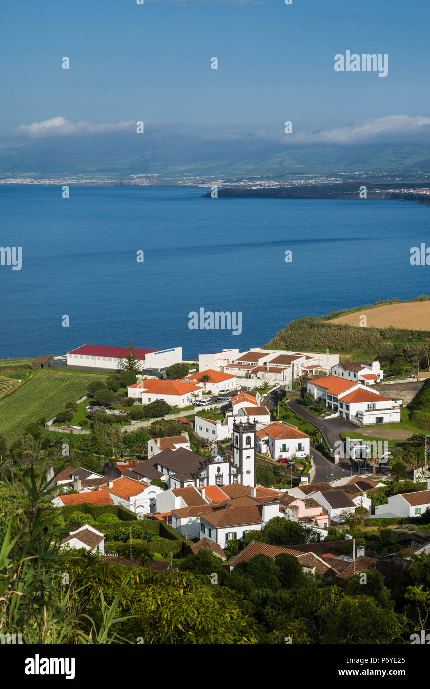 Le Portugal, Azores, Sao Miguel, l'île de Santo Antonio Photo Stock