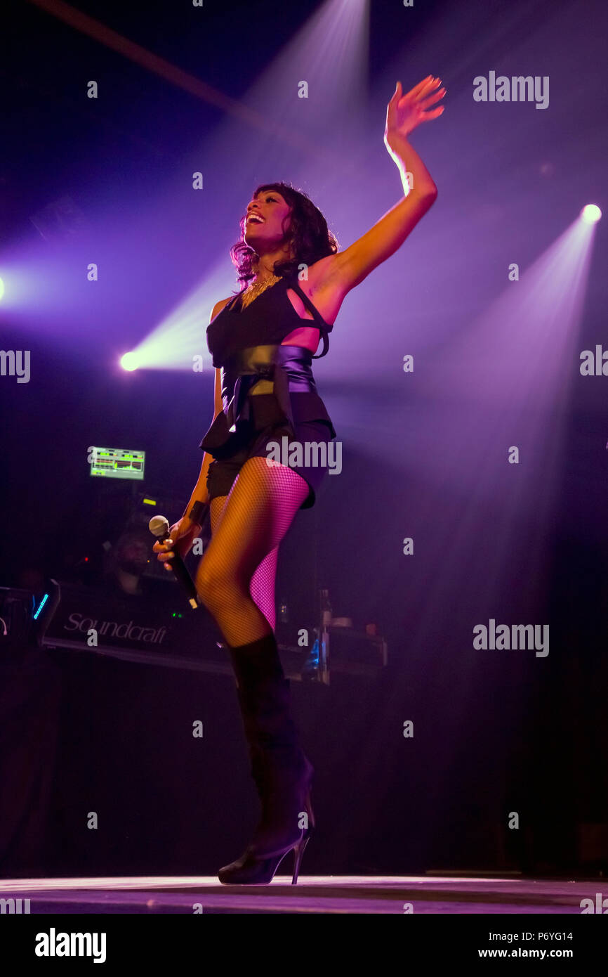 En Vogue dans les concerts Photo Stock