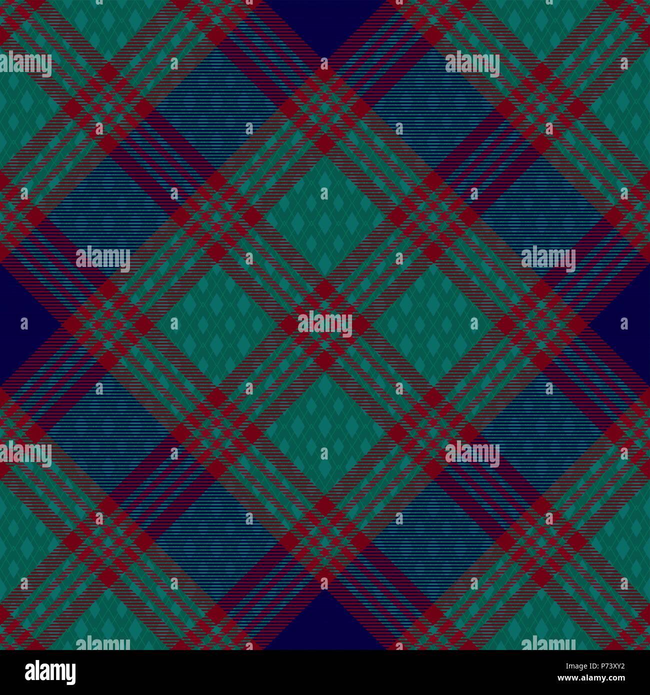 Tartan Diagonal inspiré de fond transparent vecteur 3 Illustration de Vecteur