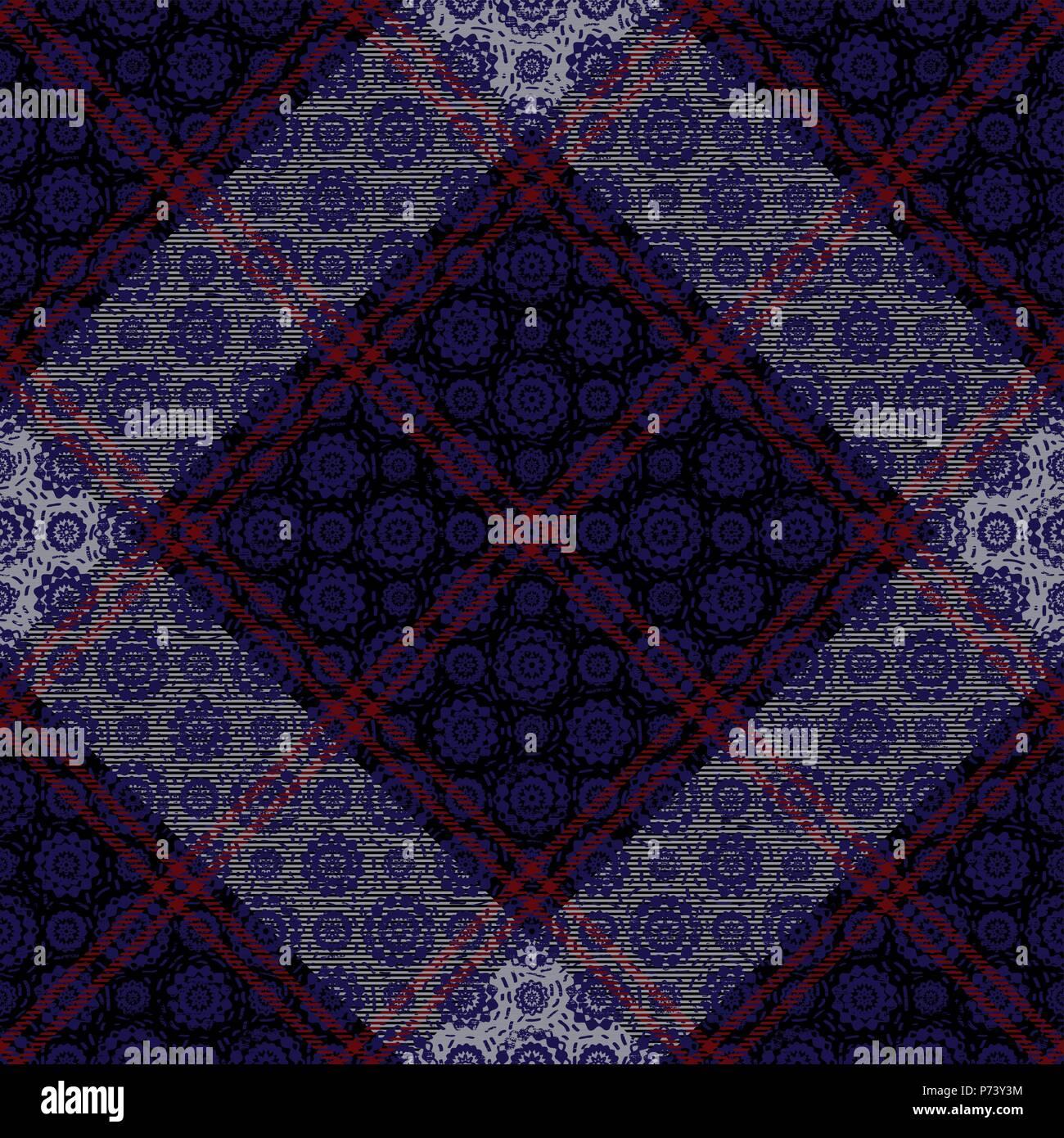 Tartan Diagonal inspiré de fond transparent vecteur 8 Illustration de Vecteur