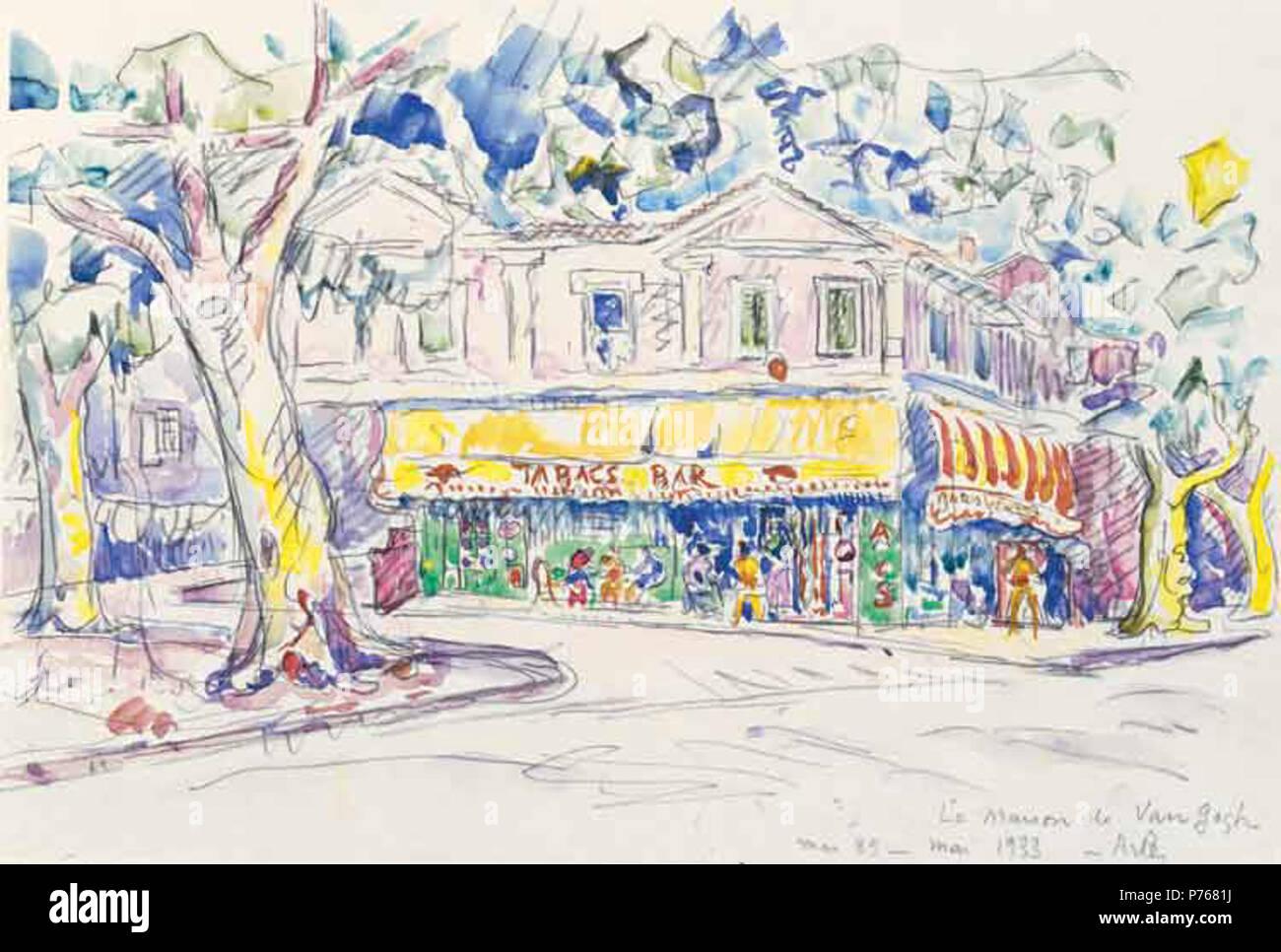 Van Gogh\'s (jaune) chambre (Arles, place Lamartine) Deutsch ...