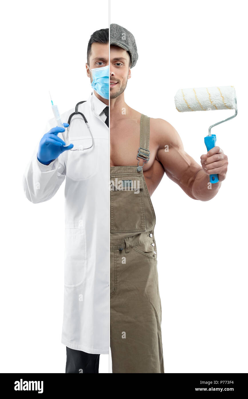 robe medical masque