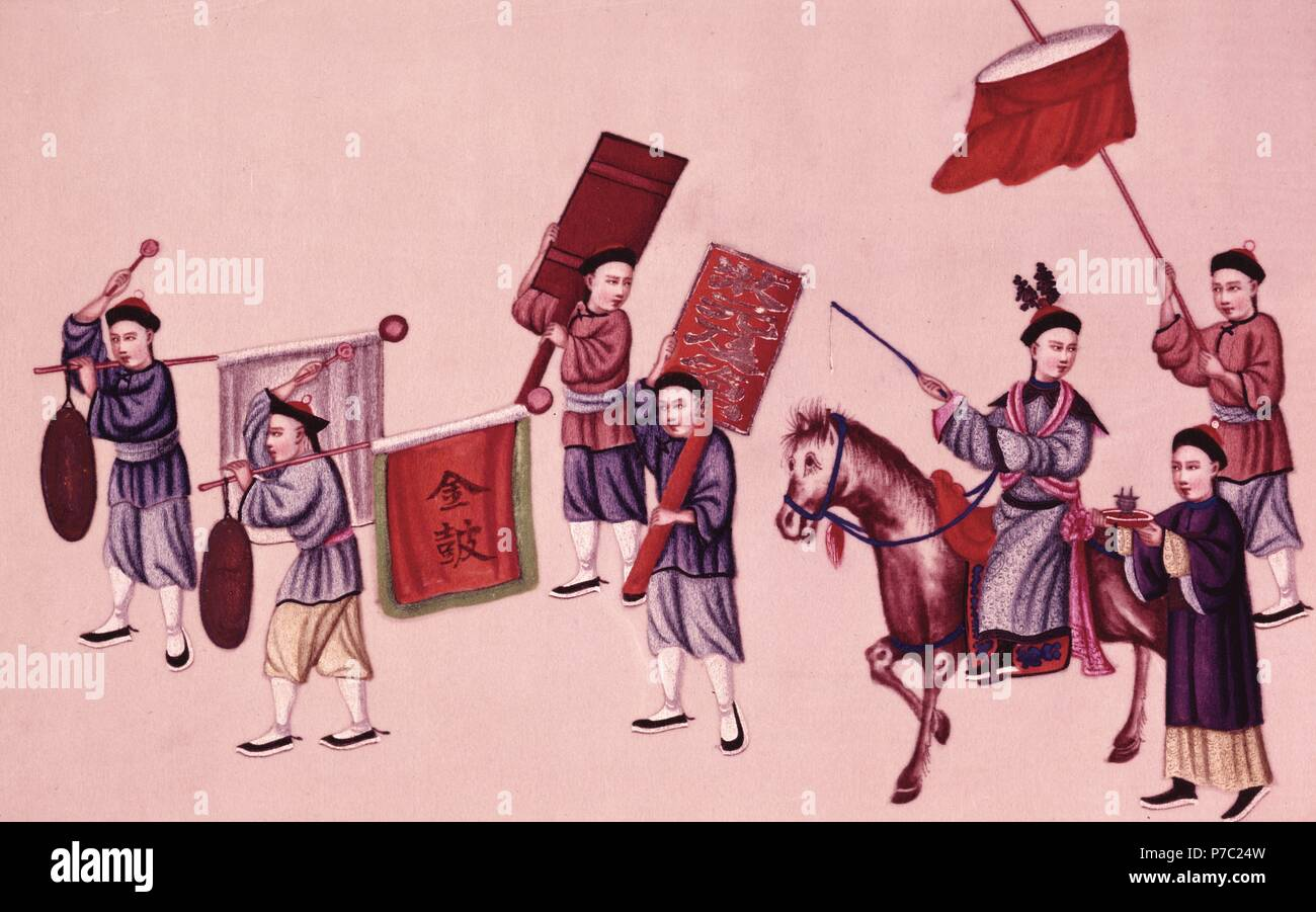 Desfile. Musée: FREE LIBRARY PHILADELPHE aux Etats-Unis. Photo Stock