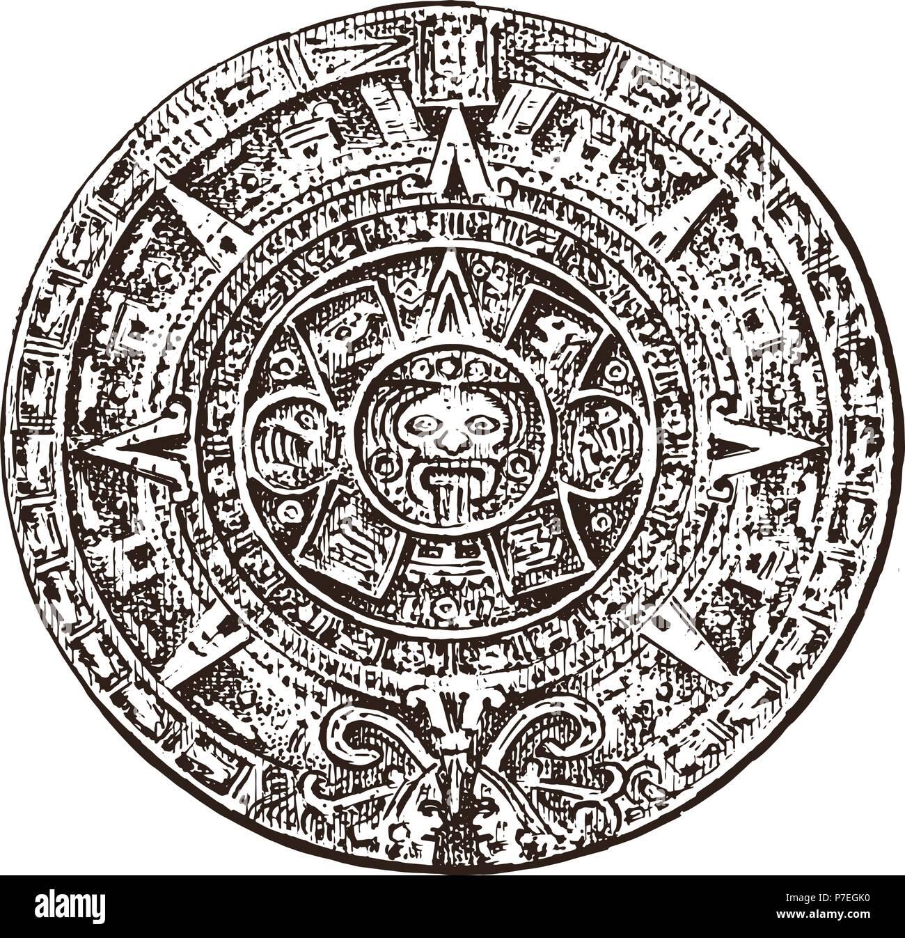 Calendrier Maya Dessin.Calendrier Maya Photos Calendrier Maya Images Alamy