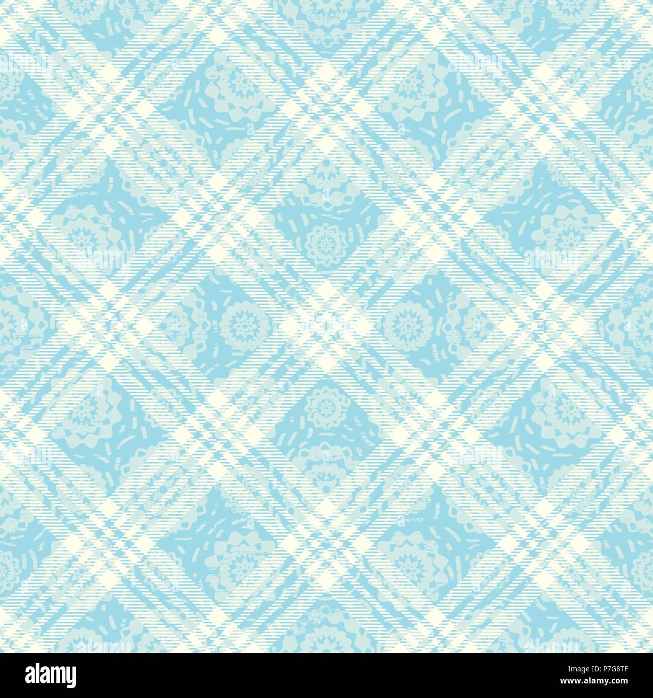 Inspiré du tartan pastel transparente motif de fond 3 vecteur Illustration de Vecteur
