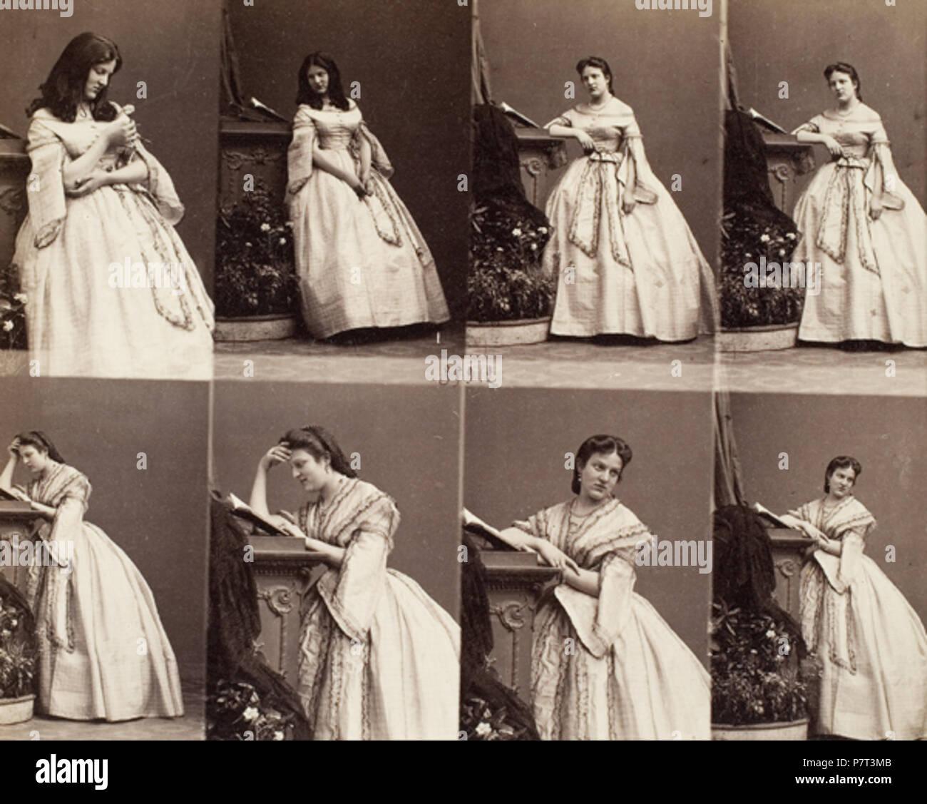 Anglais Cartes De Visite Mme Cusani 134 Disderi MmeCusani