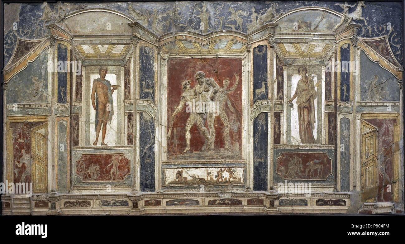 La Peinture Murale De Pompéi Des Ornements Architecturaux