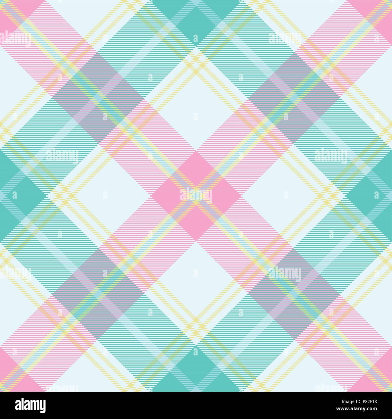 Tartan Pastel transparente motif 1 vecteur d'inspiration Illustration de Vecteur